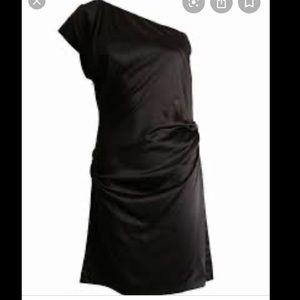 Silk one shoulder dress Diane Von Furstenberg